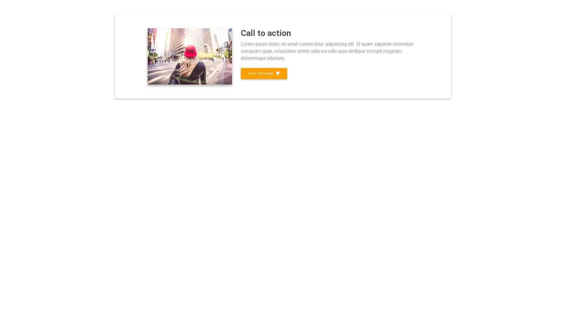 Material Design Blocks - Call to action 19