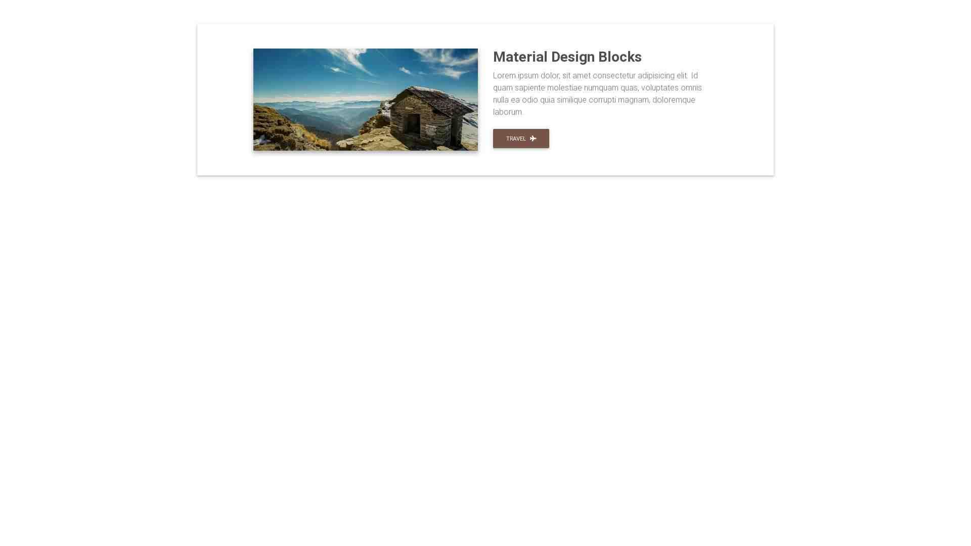Material Design Blocks - Content 4
