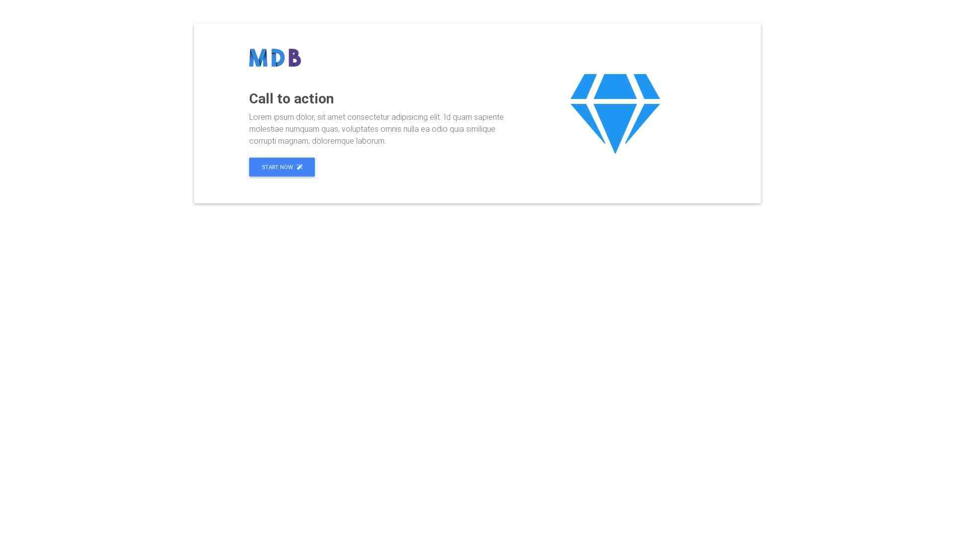Material Design Blocks - Content 6