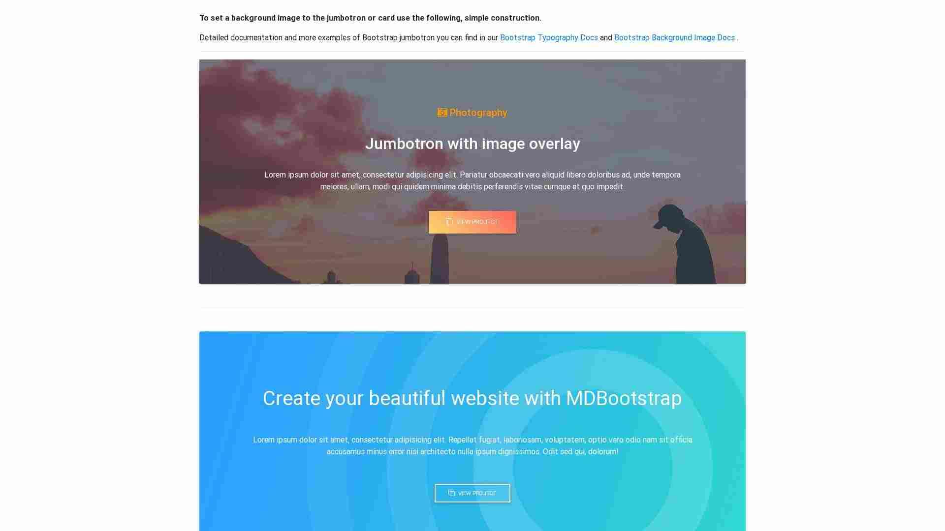 Bootstrap Jumbotron Background Image Bootstrap Helpers Code Helper