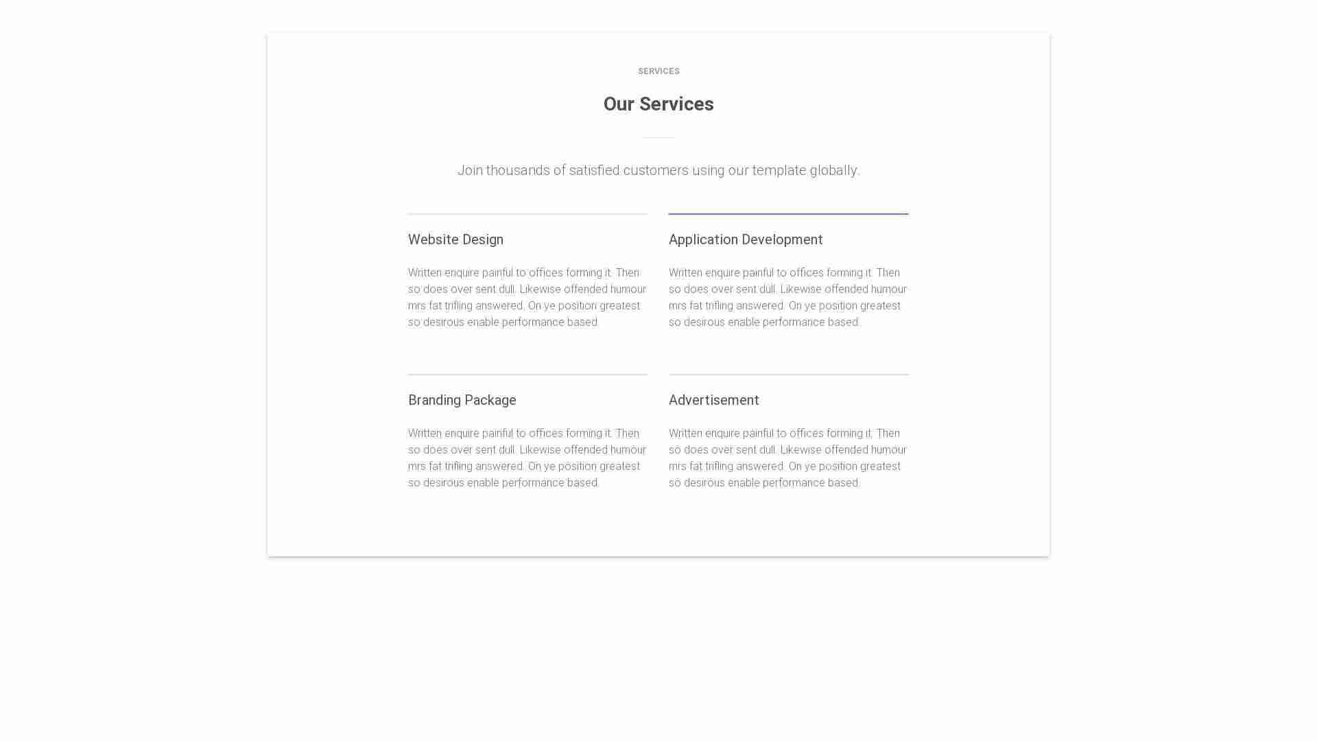 Material Design Blocks - Service 3