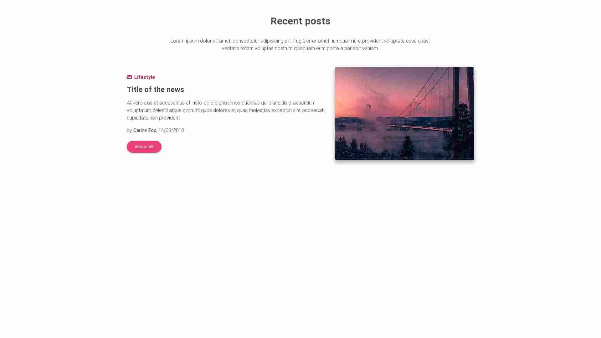 Material Design Blocks - Blog 17