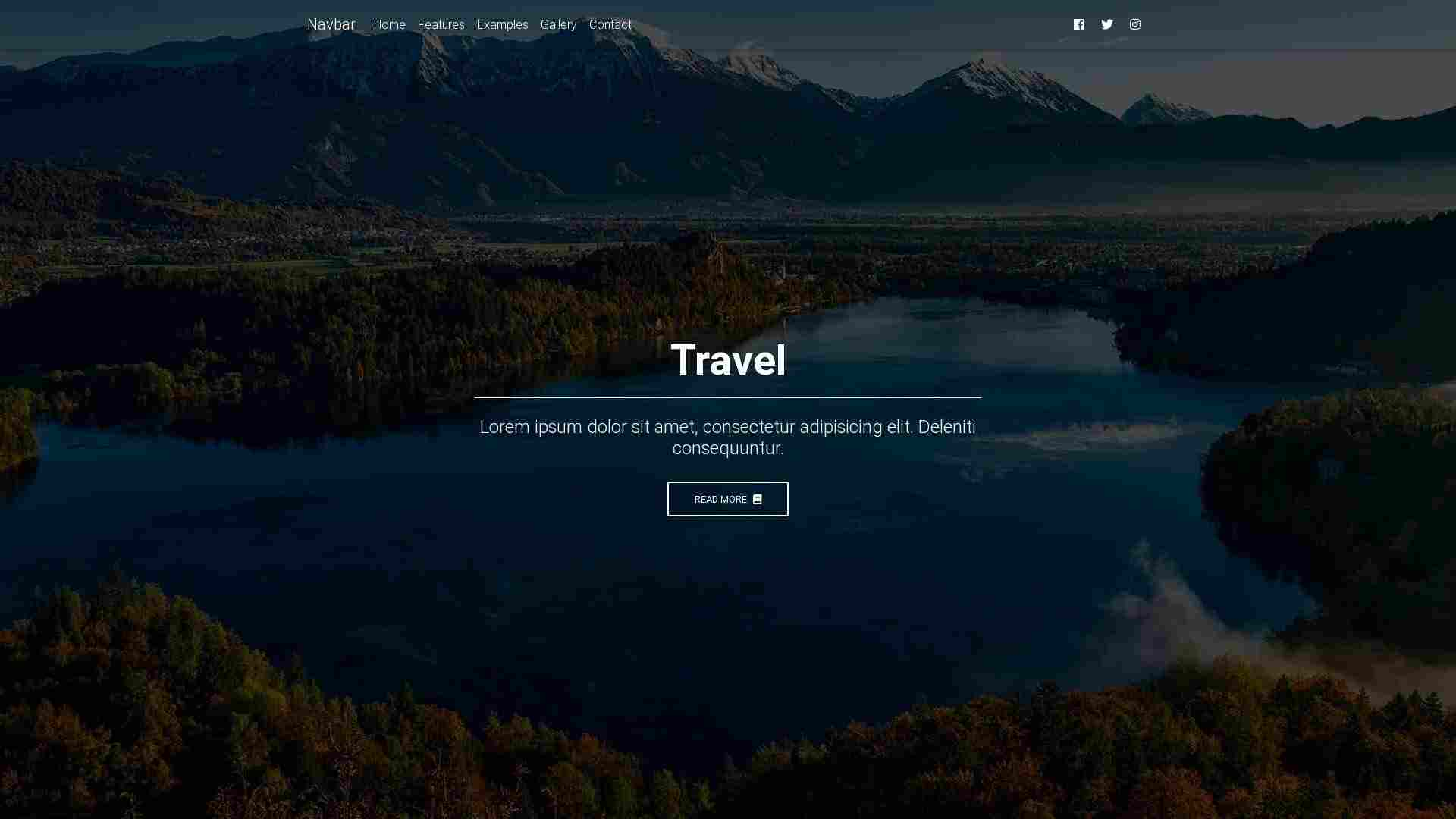 Forked from - Forked from - Forked from - Forked from - Forked from - Bootstrap Tutorial: Landing page – lesson 10