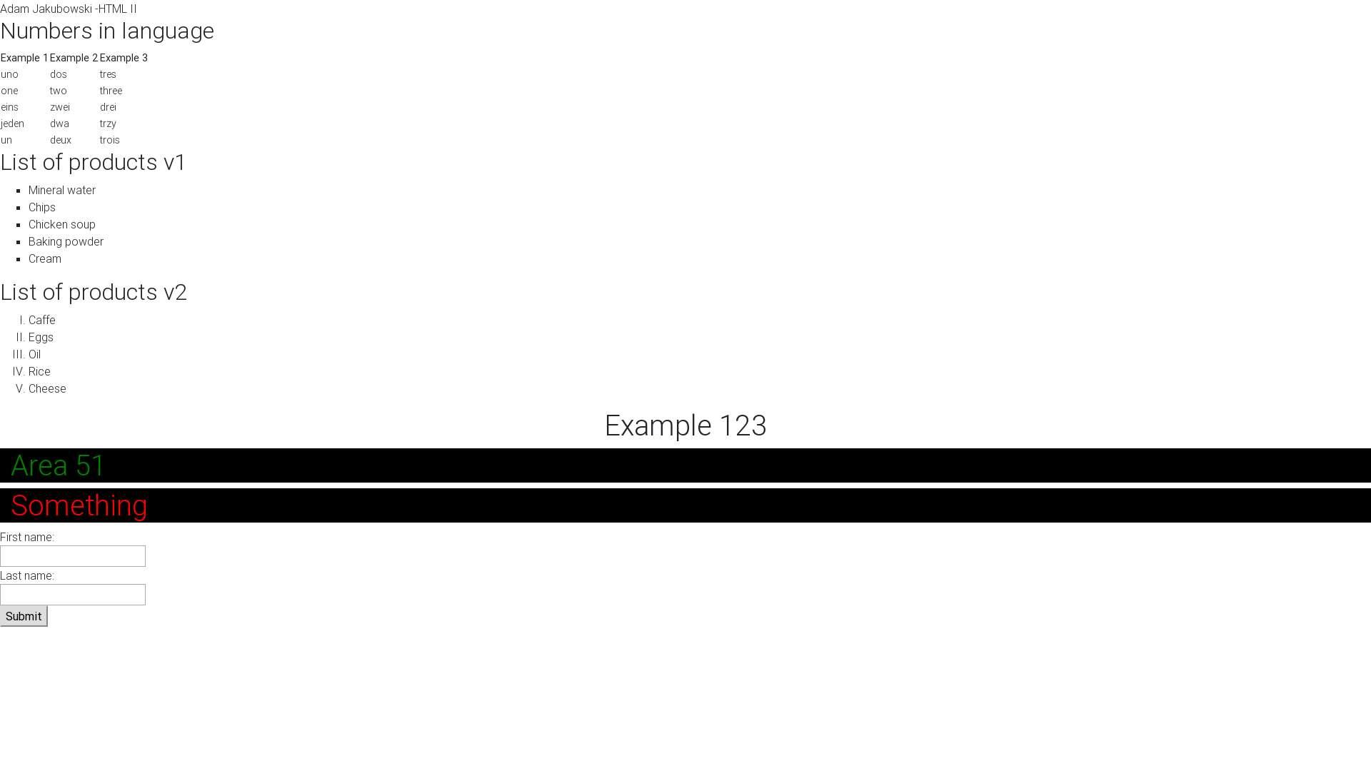 Adam Jakubowski-HTML Chapter II