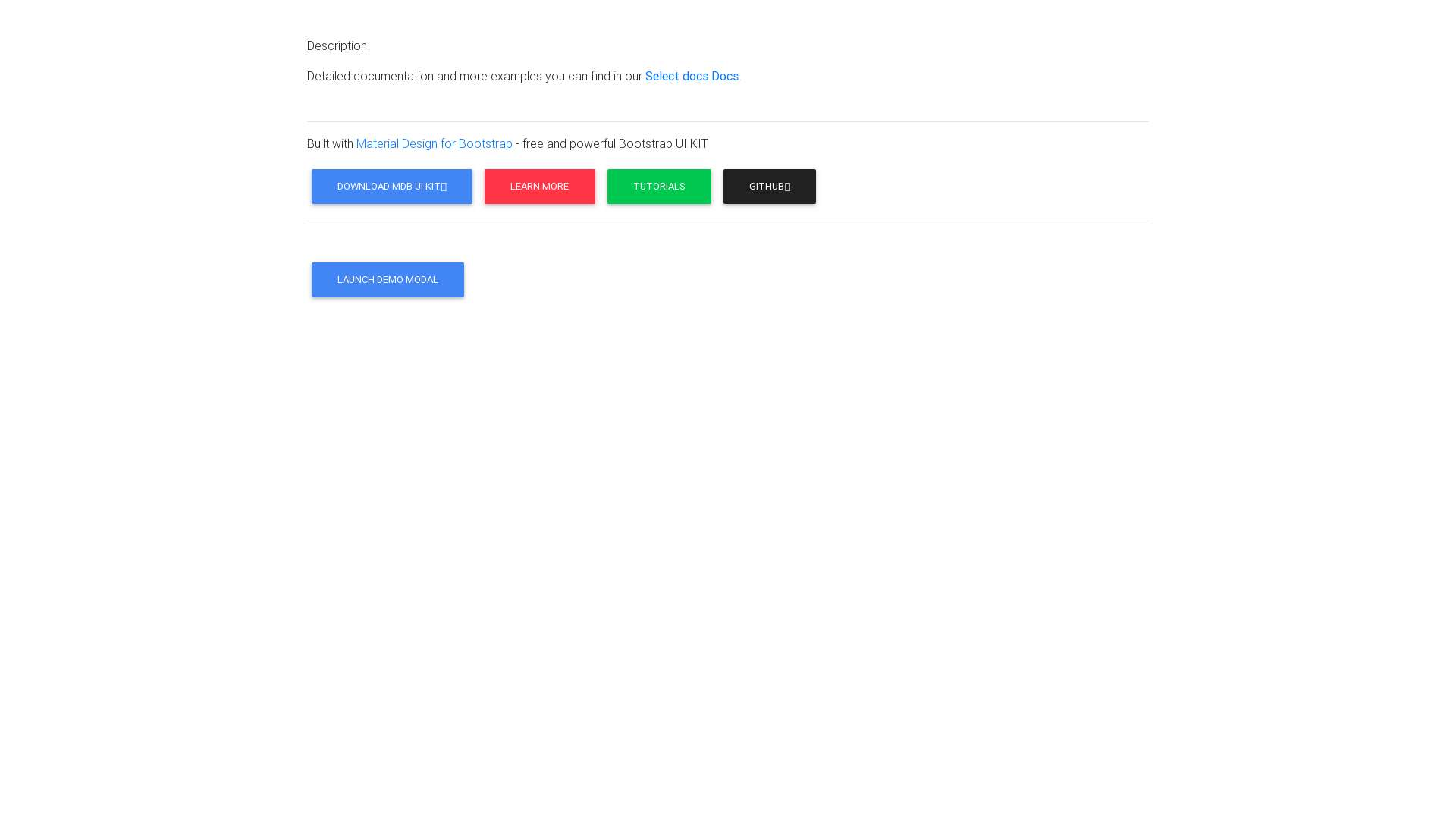 Search select