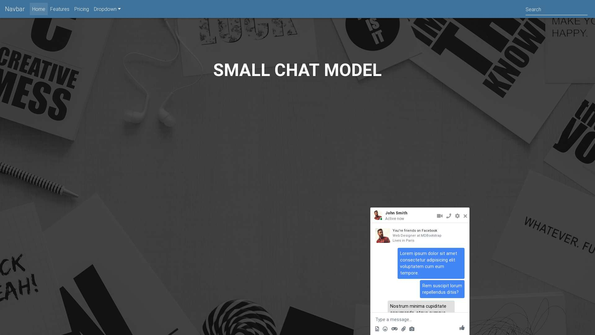 Forked from - Small chat - model