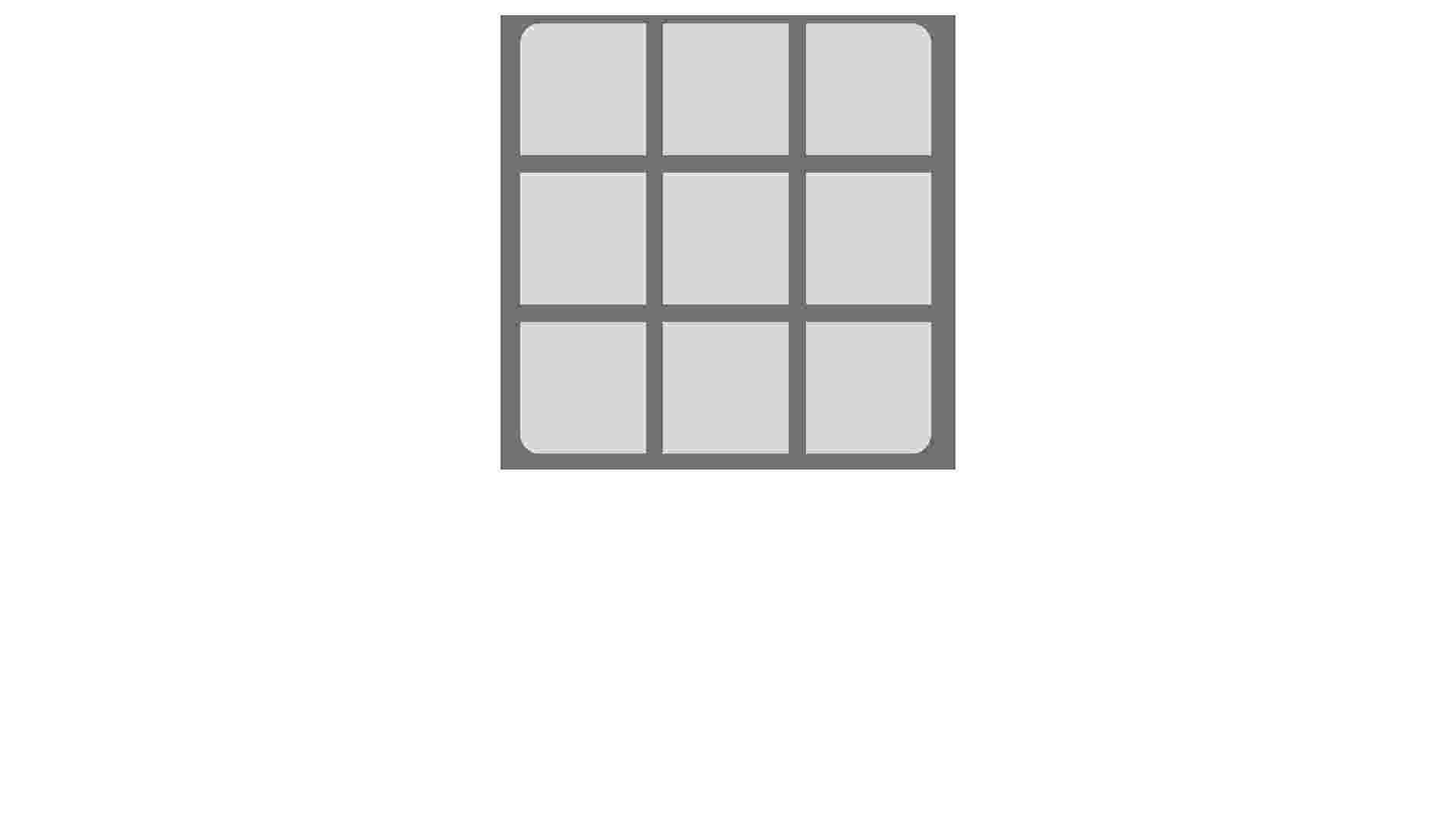 Tic-Tac-Toe (but without canvas)