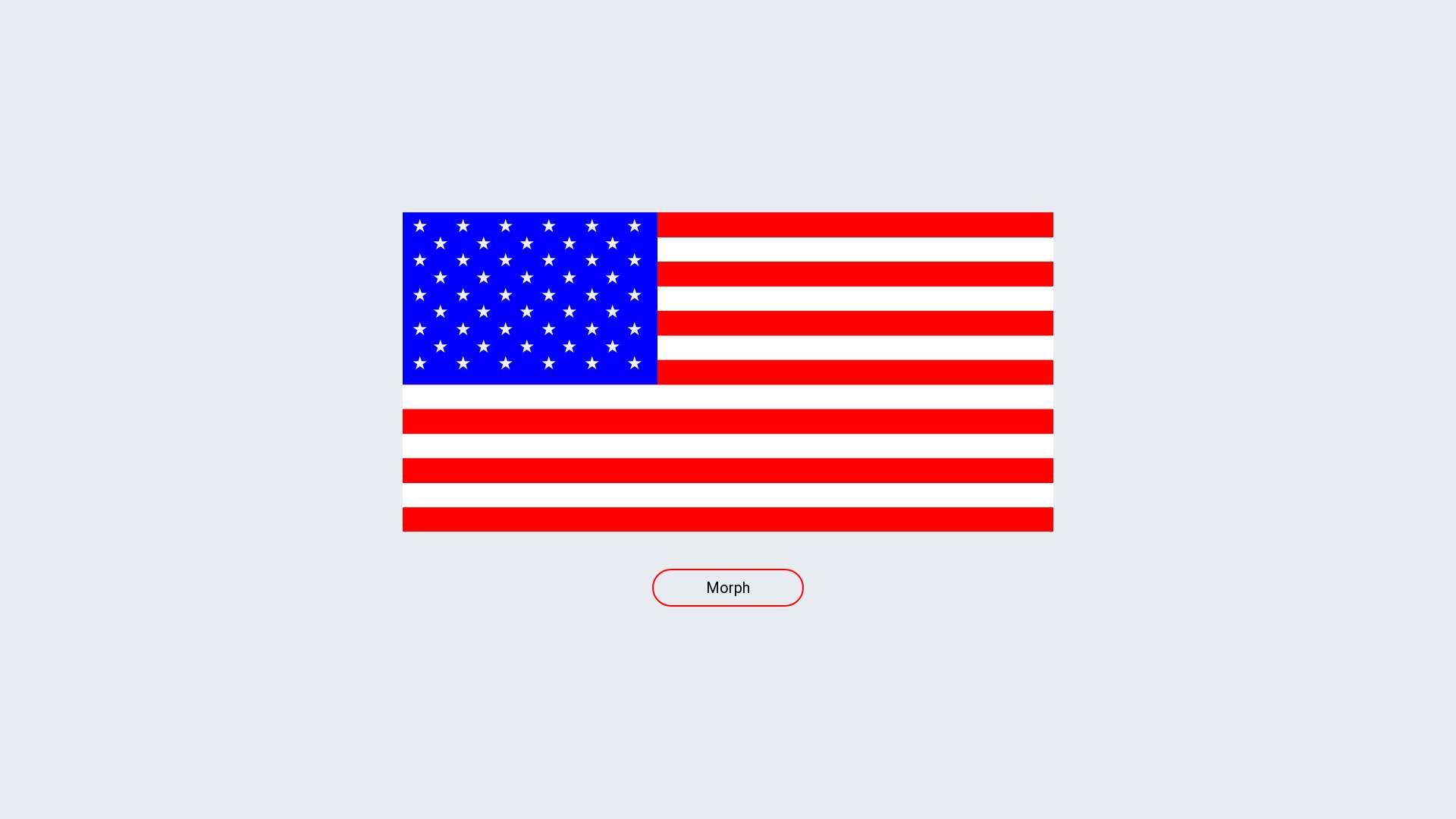 American flag morph