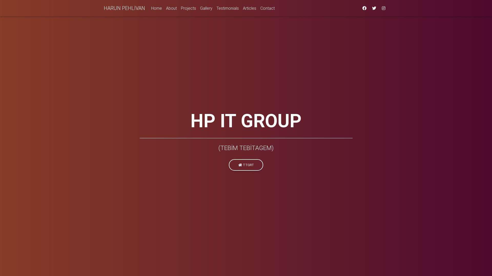 Bootstrap Tutorial: Portfoli