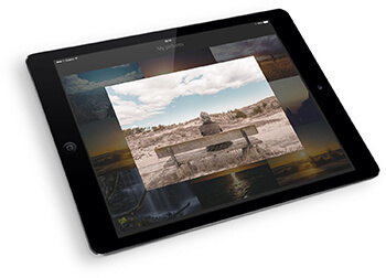 WordPress tutorial - tablet image