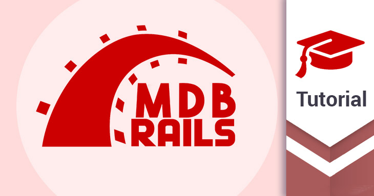 MD Bootstrap Ruby on Rails tutorial