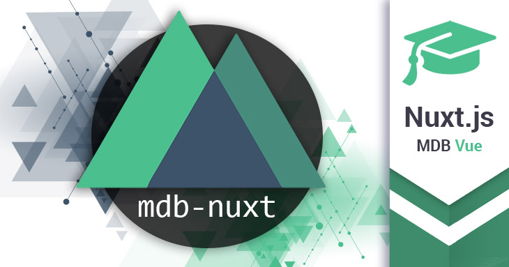 MDB Vue & Nuxt.js - Quick start guide