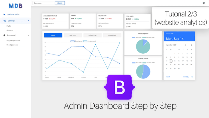 Website Analytics Dashboard Tutorial