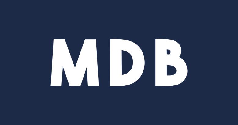 MDB logo dark