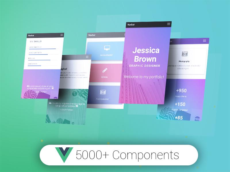 Vue Material Bootstrap Pro - Premium Vue.js UI Kit