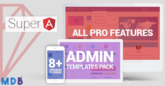 Super Bundle: MDB PRO + Admin Dashboard + All Plugins 55% OFF (Angular version) thumbnail