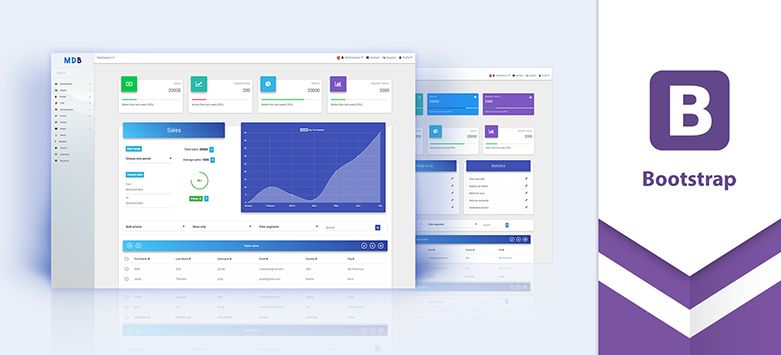 Material Design for Bootstrap 4 - the most popular & free UI