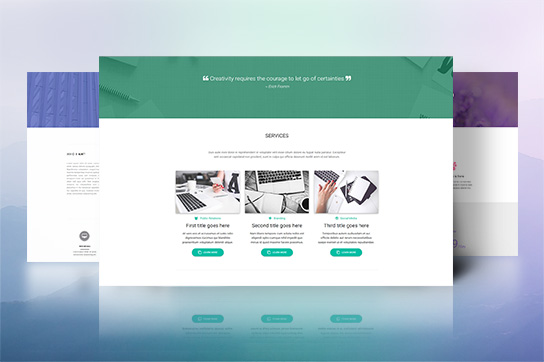 MDB Construction Landing Page Template