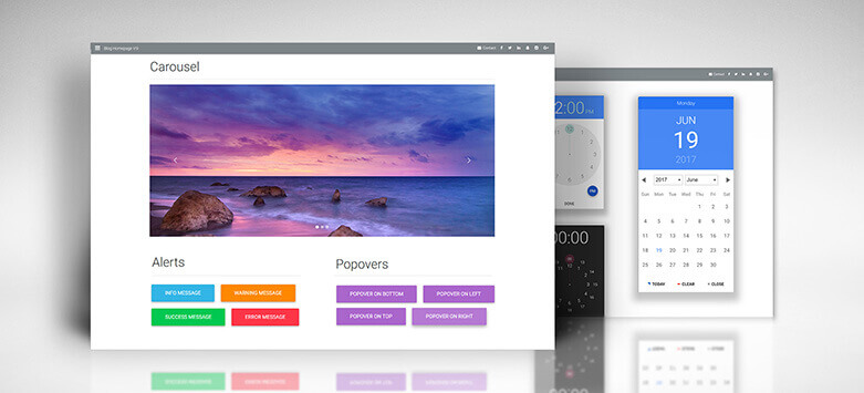 Material Design for Bootstrap - JavaScript