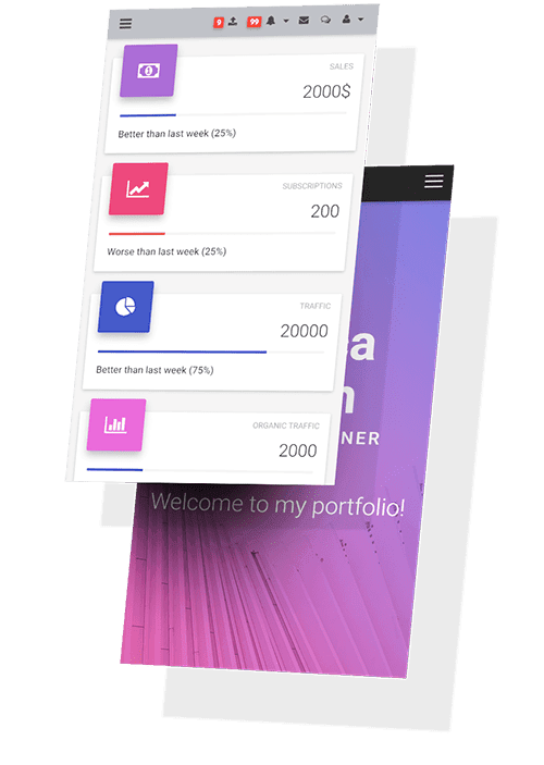 Bootstrap Material Design UI KIT - world's most popular