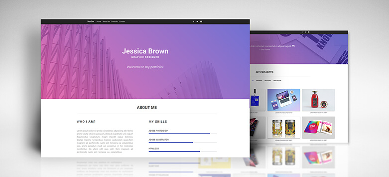 Material Design for Bootstrap - Templates