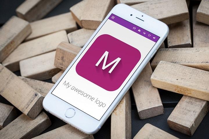 MDB Text logo generator