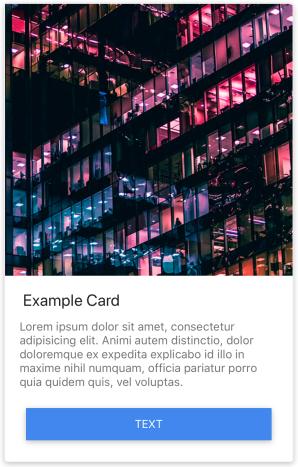 iOS cards