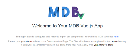 MD Bootstrap Vue 5 min quick start - Material Design for
