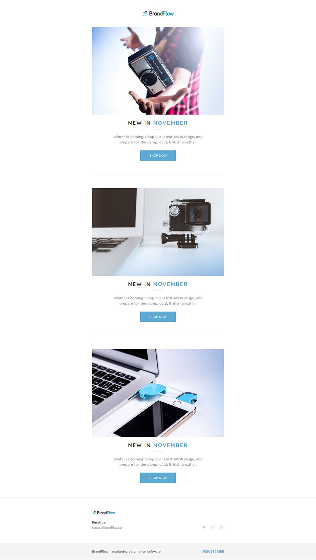Bootstrap Responsive Email Templates Code Examples Tutorials - Bootstrap email template