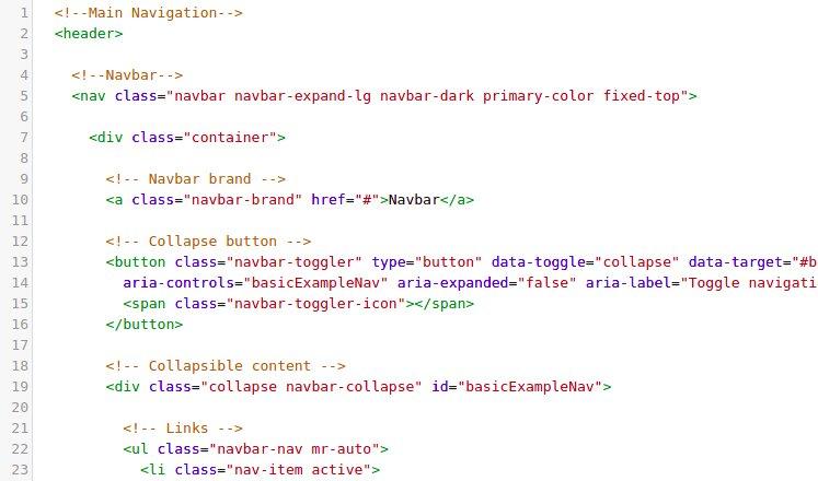 Bootstrap Tutorial: Admin dashboard – lesson 4 - Material Design for