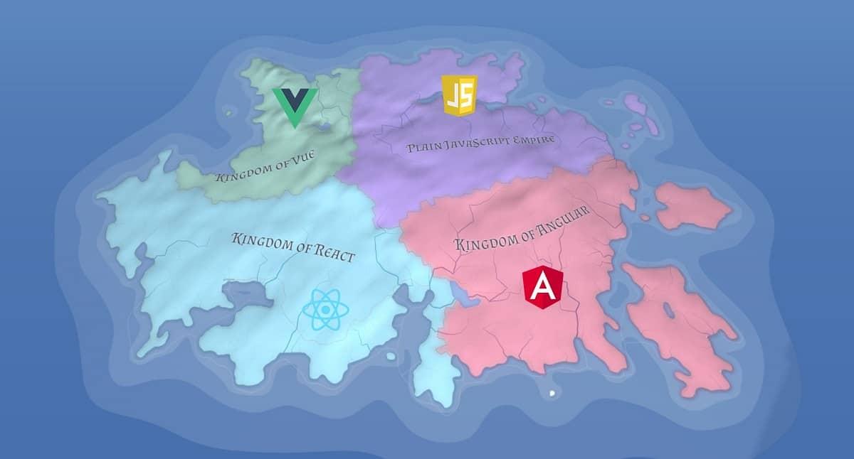 React vs. Angular vs. Vue. What will be the best JavaScript framework in 2021?