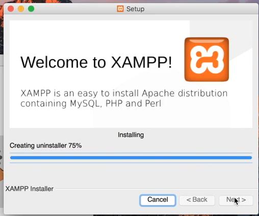 macOS XAMPP installer