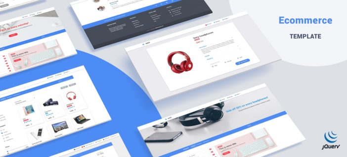 MDB Ecommerce Template Pro (jQuery version)