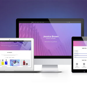 MDB Portfolio Template Pro (jQuery version)