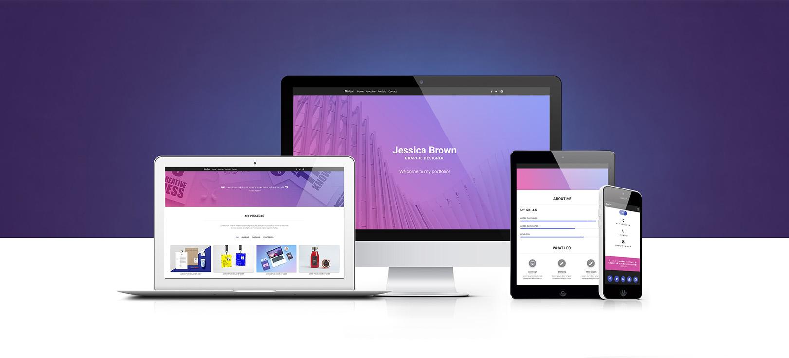 MDB Portfolio Template Pro (jQuery version)