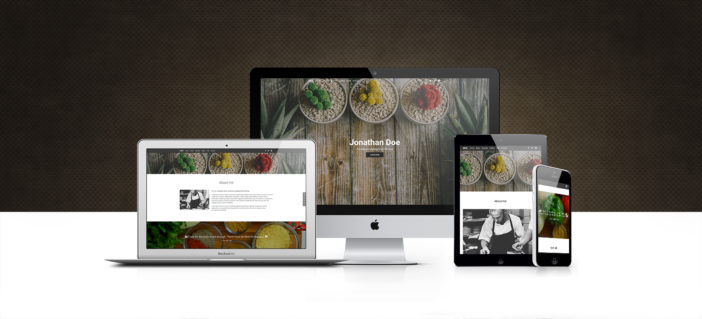View of Bootstrap Blog Templates Pack