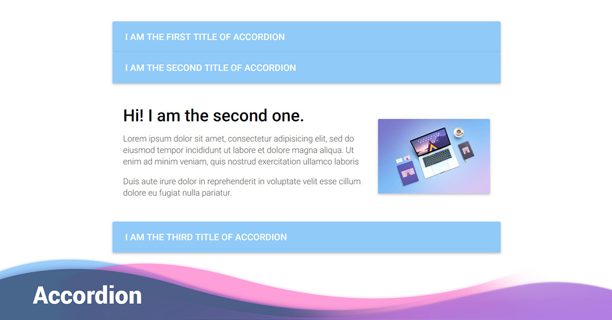 Bootstrap Accordion - examples & tutorial  Basic & advanced usage