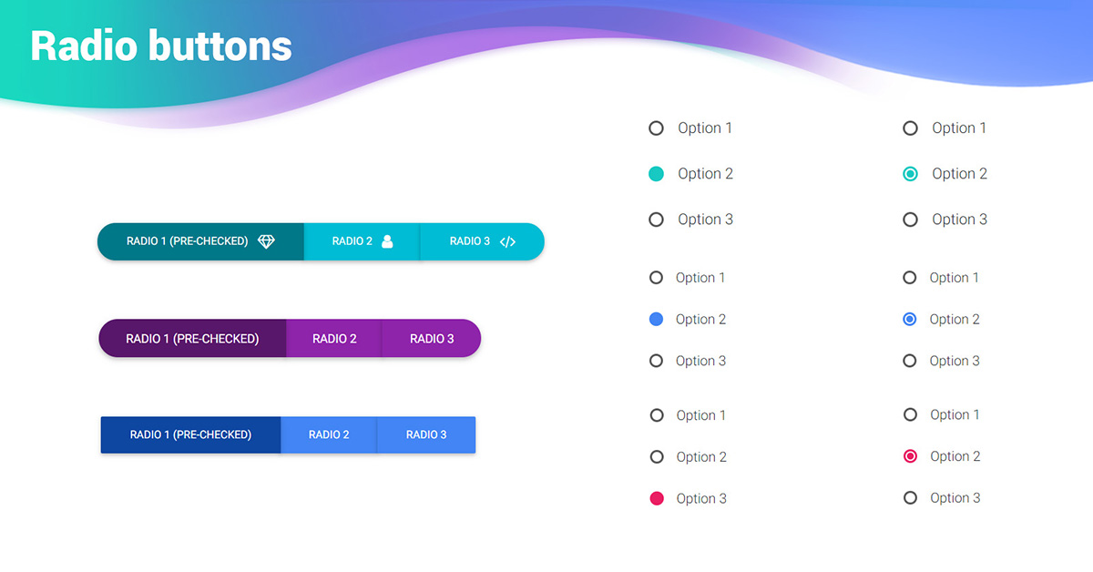 Bootstrap Radio Button - examples & tutorial  Basic & advanced usage
