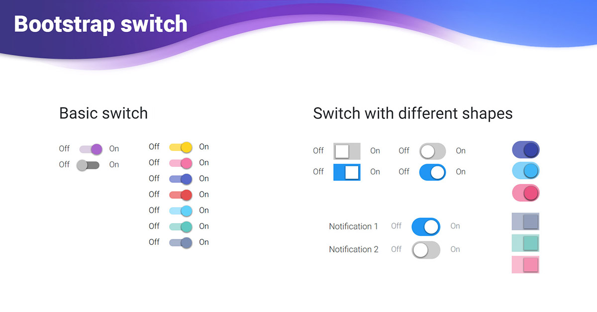React Bootstrap Switch - examples & tutorial  Basic & advanced usage