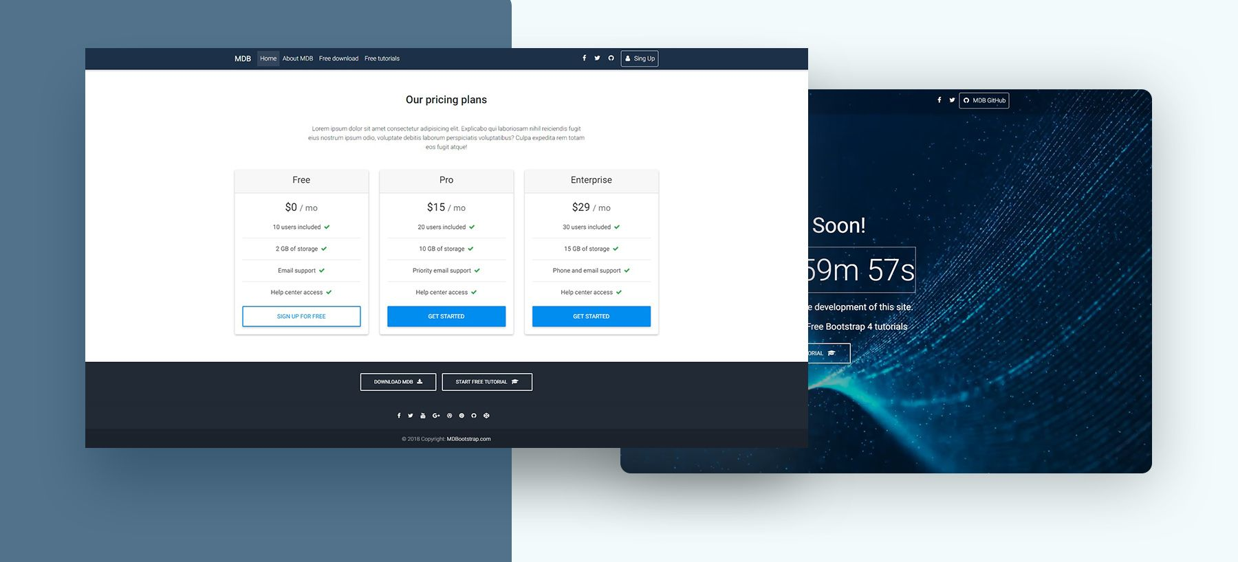 Saas free responsive saas website template colorlib.
