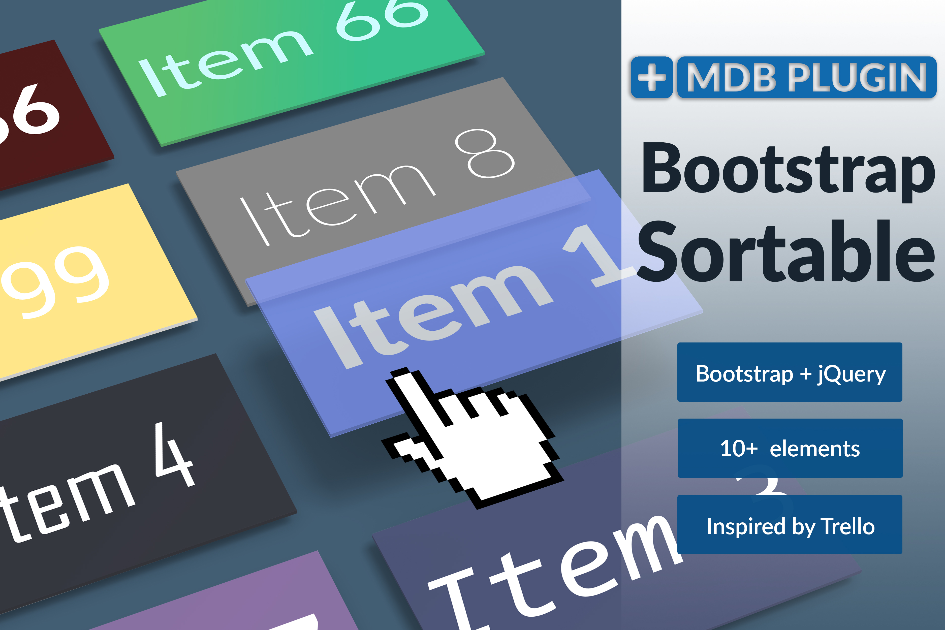 Bootstrap sortable plugin - examples & tutorial  Basic & advanced