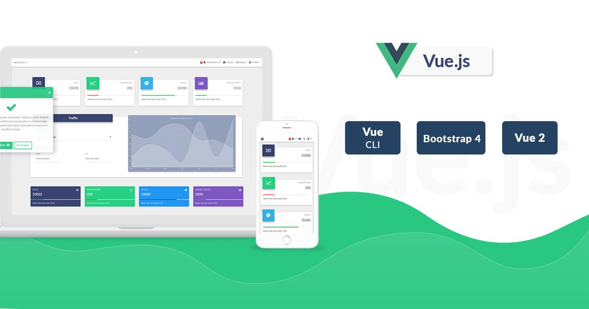 Vue Bootstrap with Material Design - Powerful and free UI
