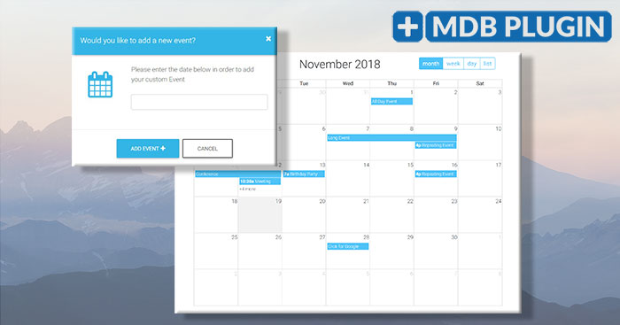Bootstrap full calendar - examples & tutorial  Basic & advanced